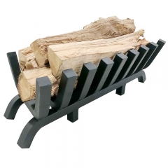 Heavy duty log grate fire pit accessories