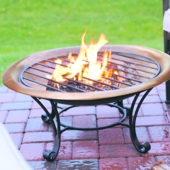 Real Copper Fire Pit