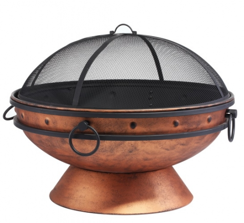 78cm Extra Deep Steel Fire Cauldron
